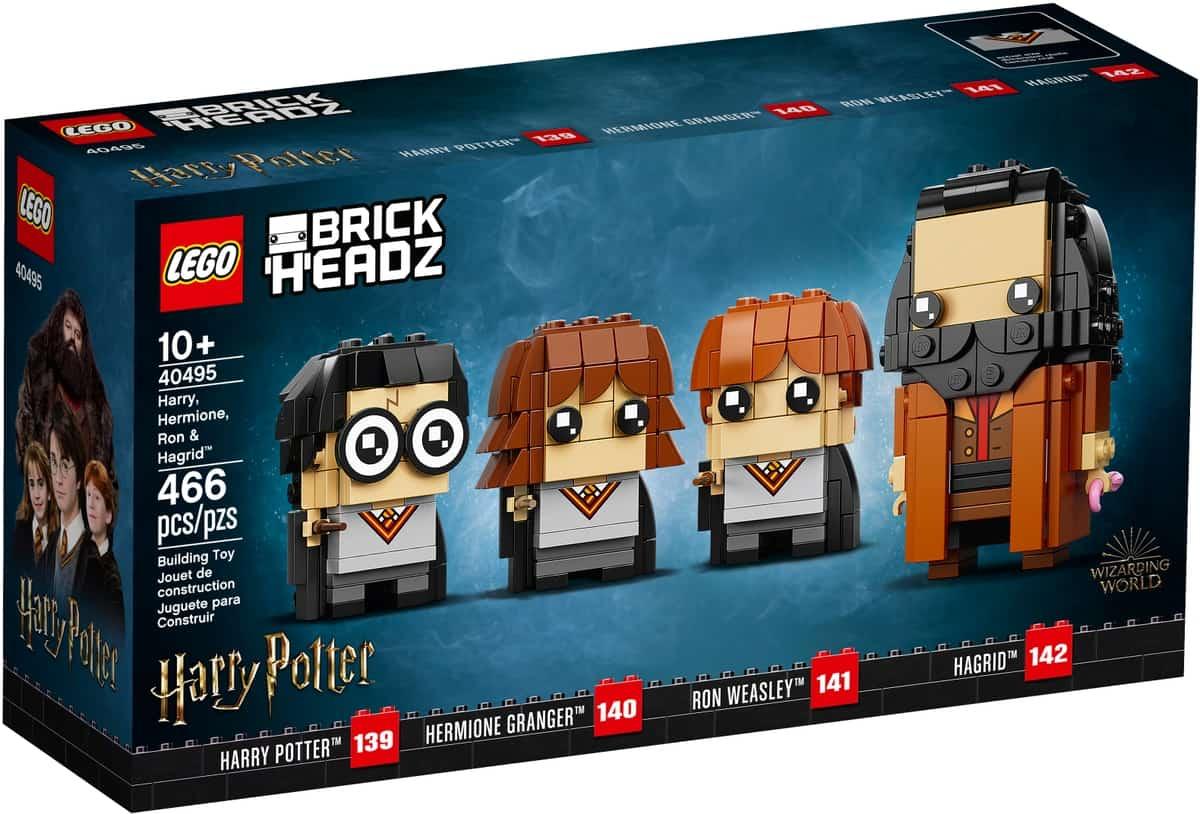 lego 40495 harry hermione ron y hagrid