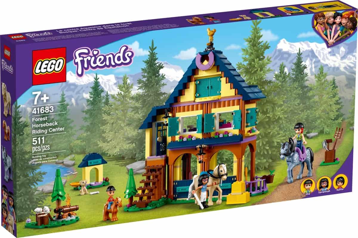 lego 41683 bosque centro de equitacion