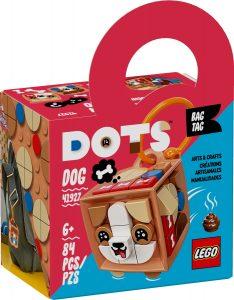 lego 41927 adorno para mochila perro