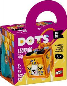 lego 41929 adorno para mochila leopardo