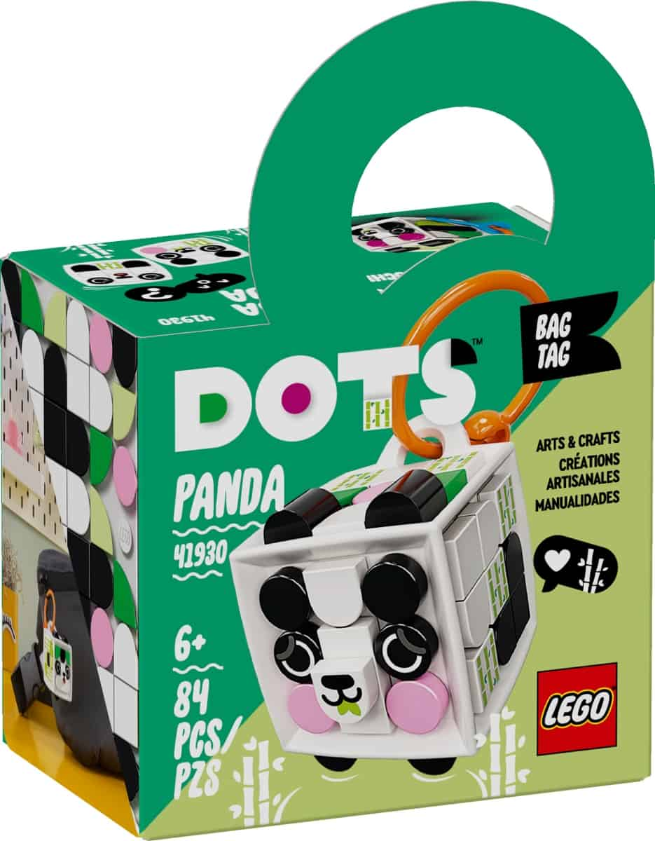 lego 41930 adorno para mochila panda