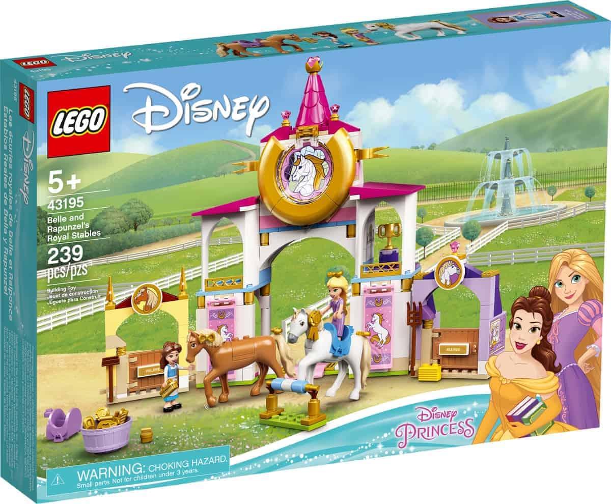lego 43195 establos reales de bella y rapunzel