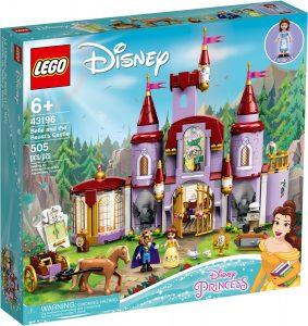 lego 43196 castillo de bella y bestia