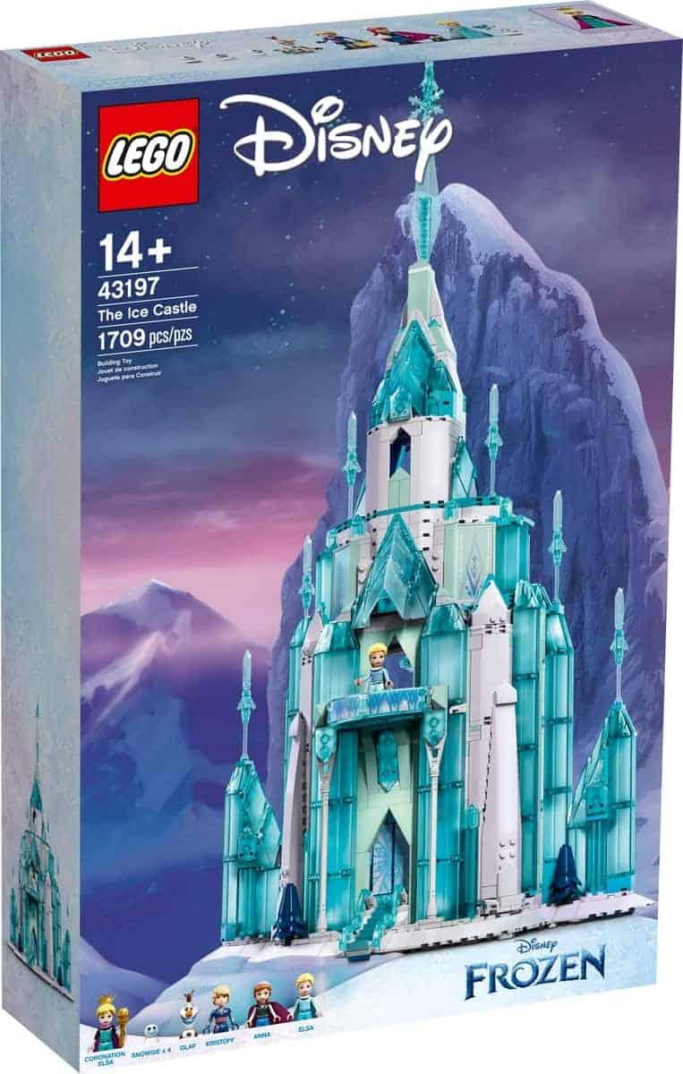 lego 43197 castillo de hielo