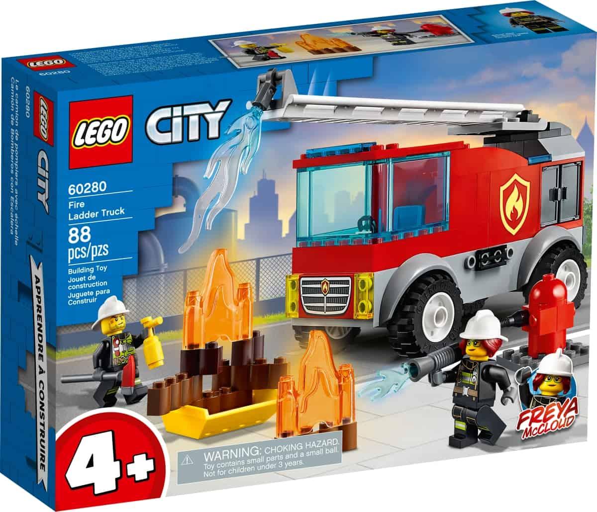 lego 60280 camion de bomberos con escalera