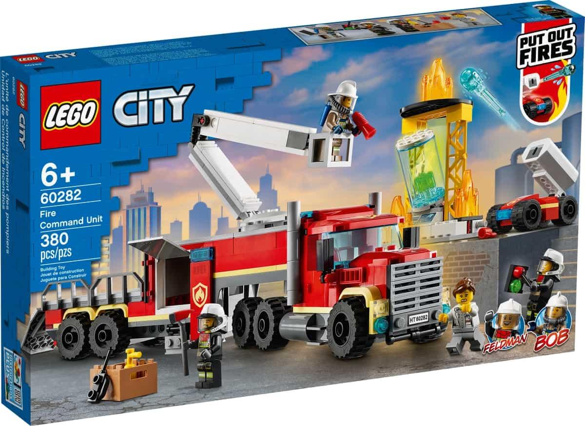 lego 60282 unidad de control de incendios