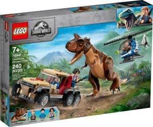 lego 76941 persecucion del dinosaurio carnotaurus