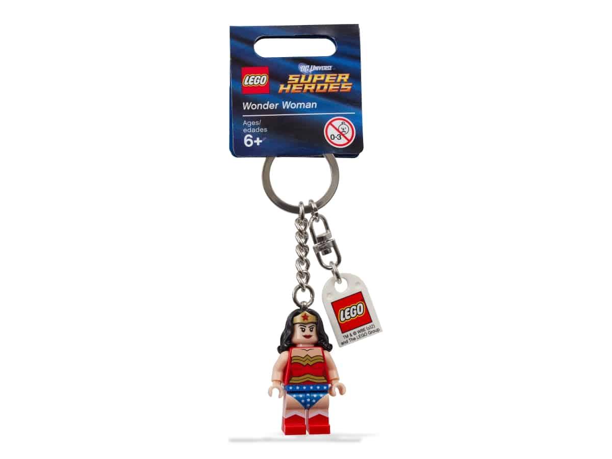 llavero de wonder woman lego 853433 super heroes