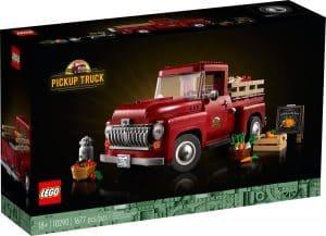 lego 10290 furgoneta clasica