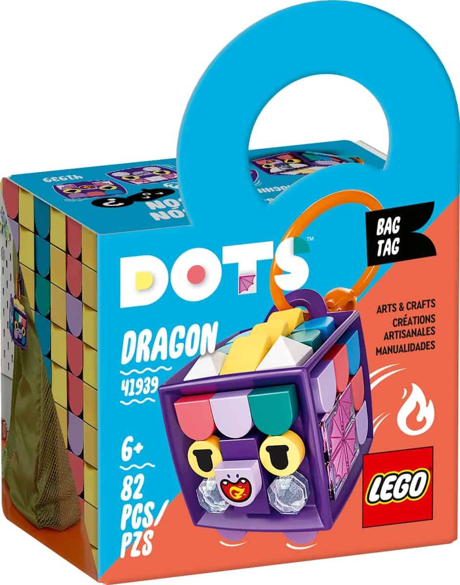lego 41939 adorno para mochila dragon