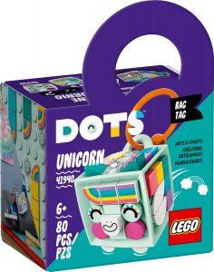 lego 41940 adorno para mochila unicornio