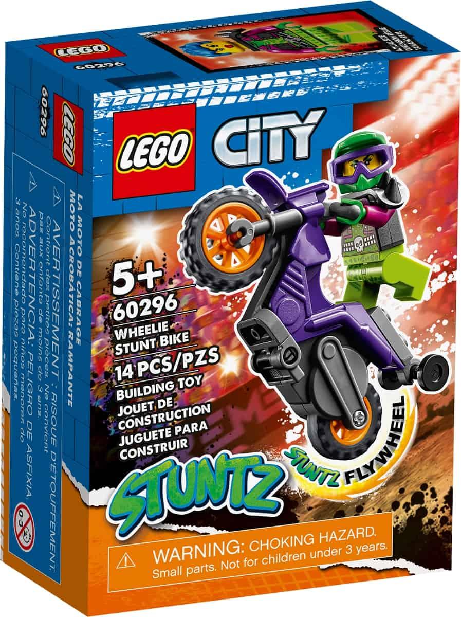 lego 60296 moto acrobatica rampante