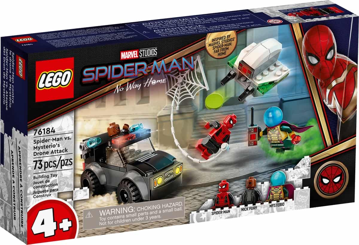 lego 76184 spider man vs ataque del dron de mysterio