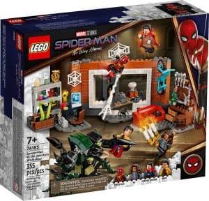lego 76185 spider man en el taller del santuario