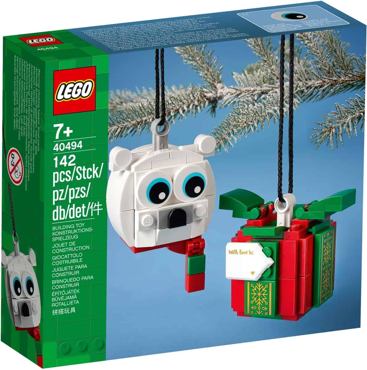 lego 40494 pack de oso polar y regalo