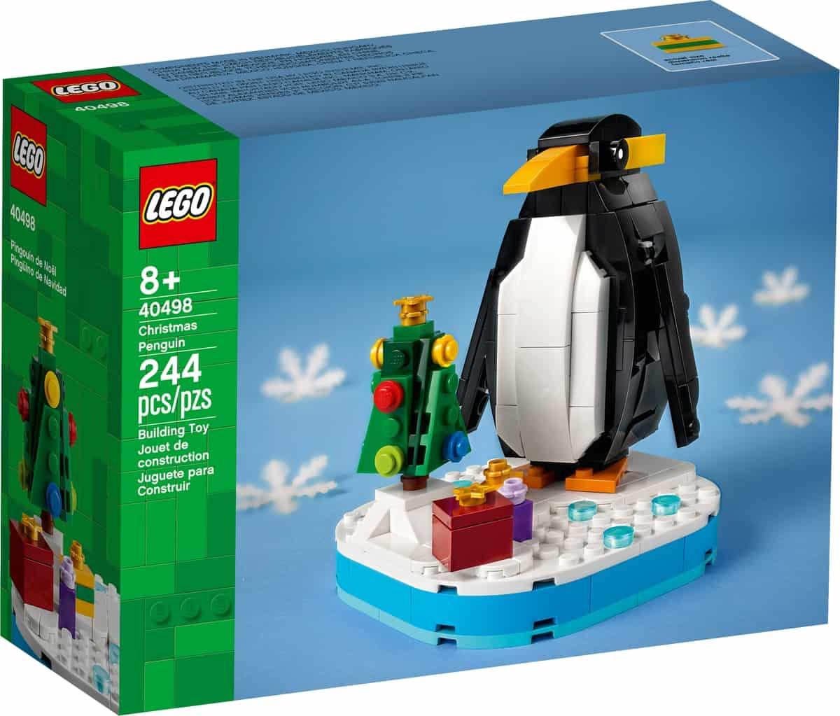lego 40498 pinguino de navidad