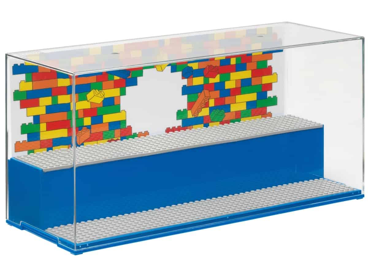 lego 5006157 vitrina de exposicion y juego azul