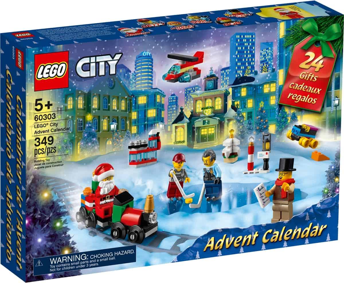 lego 60303 city calendario de adviento