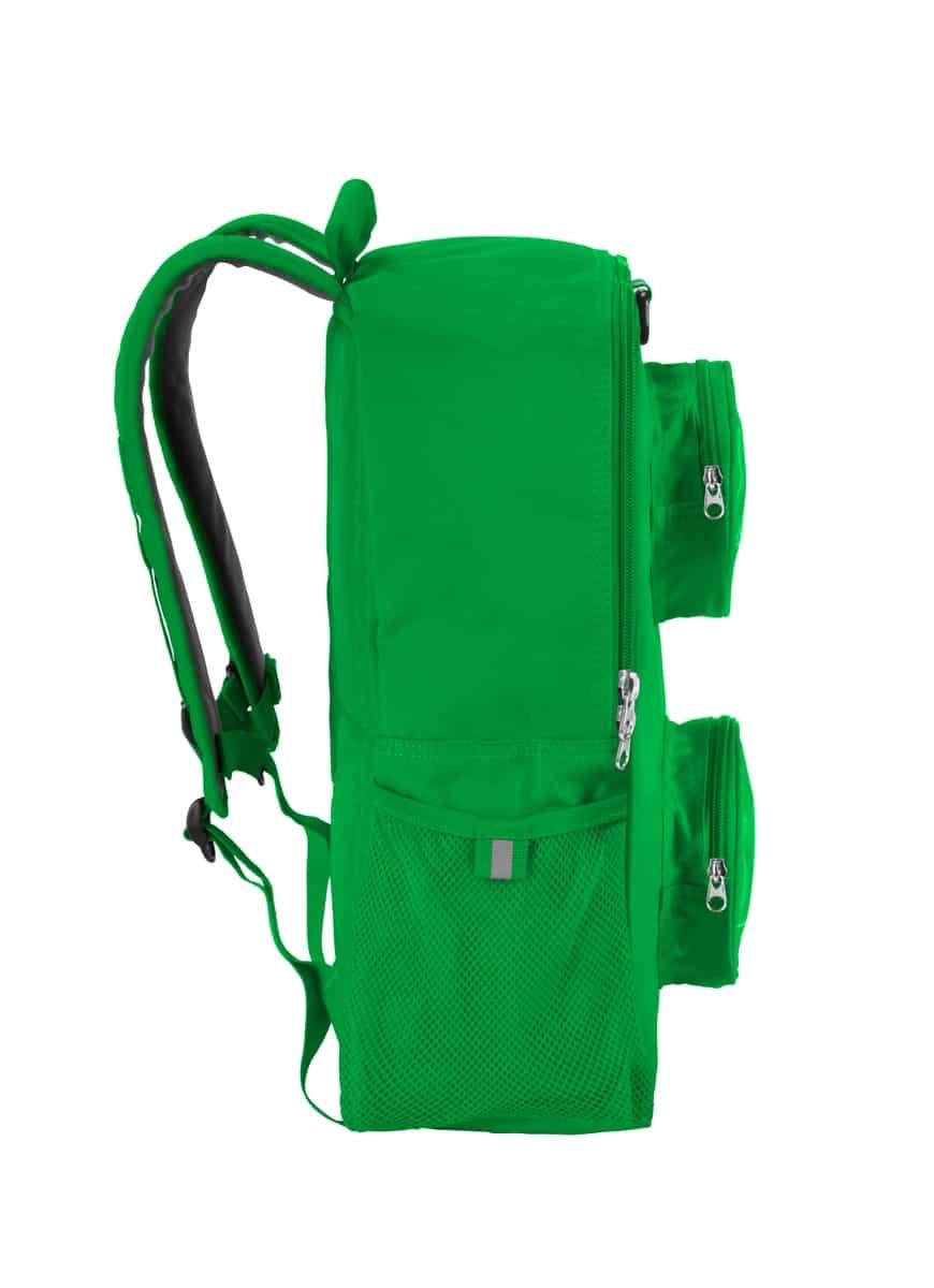 mochila de ladrillo lego 5005525 verde