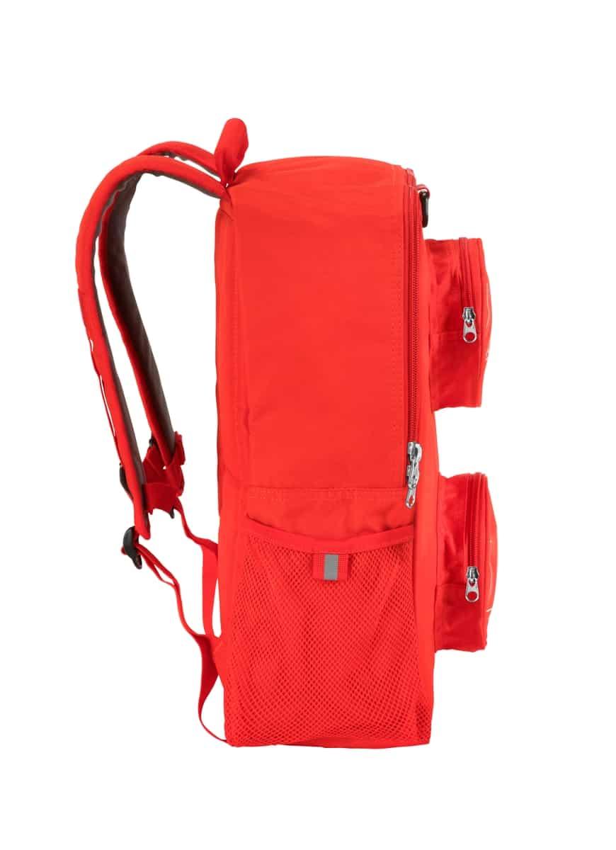 mochila de ladrillo lego 5005536 roja