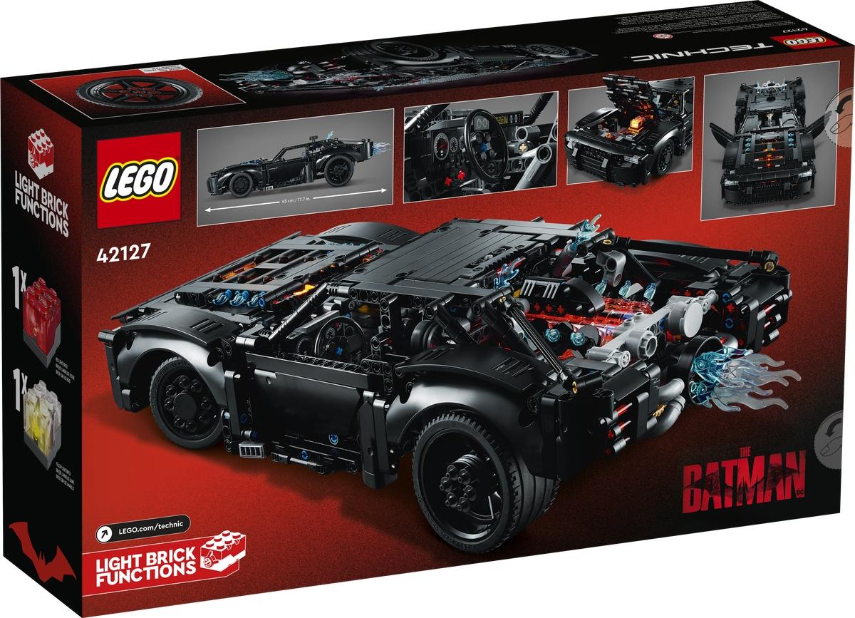 lego 42127 the batman batmvil