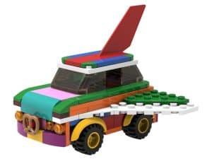 lego 5006890 coche volador desmontable